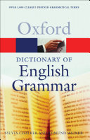 OXFORD DIC ENGLISH GRAMMAR(P)