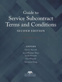 Guide to Service Subcontract Terms and Conditions