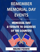 Remember Memorial Day Events Book