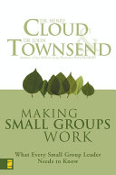 Making Small Groups Work Pdf/ePub eBook