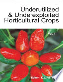 Underutilized and Underexploited Horticultural Crops