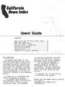 California News Index