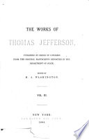 The Works of Thomas Jefferson Book