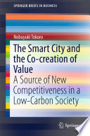 The Smart City and the Co creation of Value Book