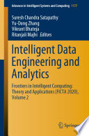 Intelligent Data Engineering And Analytics Book PDF