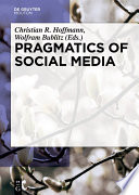 Pragmatics of Social Media Book