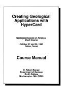 Creating Geological Applications with HyperCard