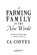 A Farming Family in the New World