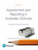 Cover of Assessment and Reporting in Australian Schools (Custom Edition)