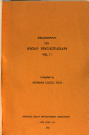 Bibliography on Group Psychotherapy