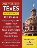 TExES Core Subjects Ec 6 291 Book Book