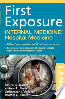 First Exposure to Internal Medicine  Hospital Medicine