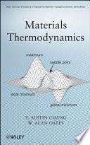 Materials Thermodynamics Book PDF