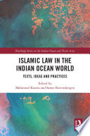 Islamic Law in the Indian Ocean World
