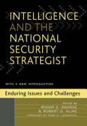 Pdf Intelligence and the National Security Strategist Telecharger