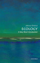 Ecology  a Very Short Introduction