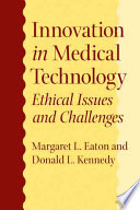 Innovation In Medical Technology Book PDF