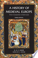 A History of Medieval Europe Book