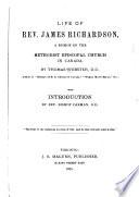 Life Of Rev James Richardson