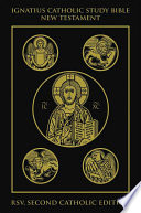 """The Ignatius Catholic Study Bible: New Testament"" by Scott Hahn, Curtis Mitch"