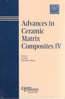 Advances in Ceramic-matrix Composites IV