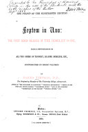 Septem in uno  the first seven volumes of the Homilist in one