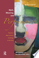 Myth Meaning And Performance