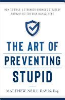 The Art of Preventing Stupid Pdf/ePub eBook