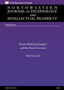 Northwestern Journal of Technology   Intellectual Property  Vol  9  No  6