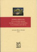 Pdf Europa Oriental: en la encrucijada entre la Unión Europea y la Federación Rusa