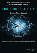 Pdf Finite-Time Stability: An Input-Output Approach Telecharger