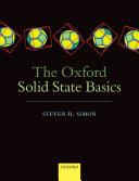 The Oxford Solid State Basics Pdf/ePub eBook