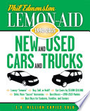 Lemon-Aid New and Used Cars and Trucks 1990–2015