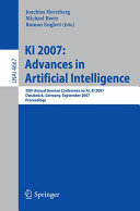 KI 2007  Advances in Artificial Intelligence