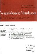 Bulletin de la Soci  t   N  ophilologique Book PDF