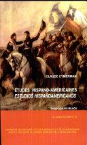 Cahier du CRIAR n°16 - Etudes hispano-americaines. Estudios hispano-americanos