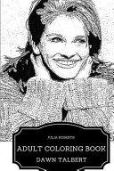 Julia Roberts Adult Coloring Book