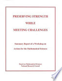 Preserving Strength While Meeting Challenges