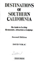 Destinations of Southern California