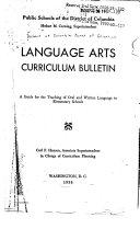 Language Arts Curriculum Bulletin Book PDF