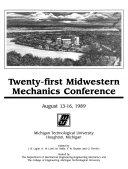 Developments in Mechanics
