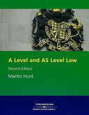 A Level and AS Level Law