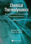 Chemical Thermodynamics Book