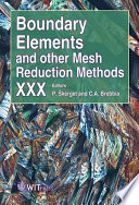 Boundary Elements and Other Mesh Reduction Methods XXX Book