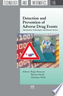 Detection and Prevention of Adverse Drug Events Book
