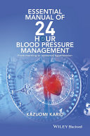 Essential Manual of 24 Hour Blood Pressure Management ebook