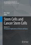 Stem Cells and Cancer Stem Cells  Volume 12 Book