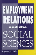 Employment Relations and the Social Sciences