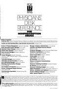 Physicians' Desk Reference for Nonprescription Drugs