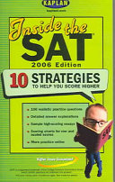 Inside the SAT 2006 Edition Book